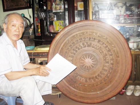 Artisan Nguyen Ngoc Trong, a golden hand in metal inlaying craft
