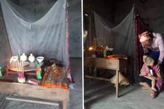 Chồng hoảng loạn thấy dép của vợ con nổi trên sông ở Hà Tĩnh