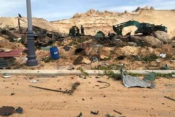 Nổ tại dự án sân golf, 2 người chết, nhiều người bị thương