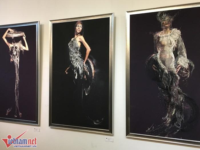 NTK Quỳnh Paris lần đầu tiên làm triển lãm hội họa