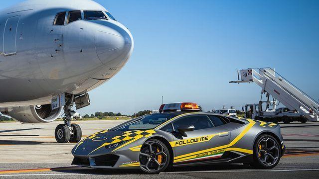 Lamborghini,sân bay Ý,siêu xe