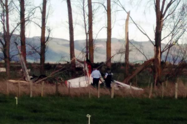 Hai máy bay đâm nhau giữa trời ở New Zealand