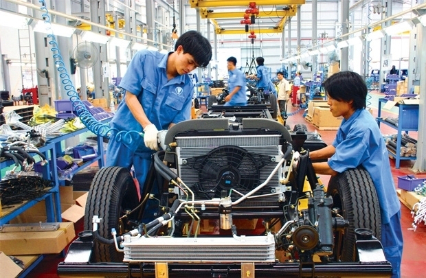 công nghiệp ô tô,sản xuất ô tô,ô tô lắp ráp