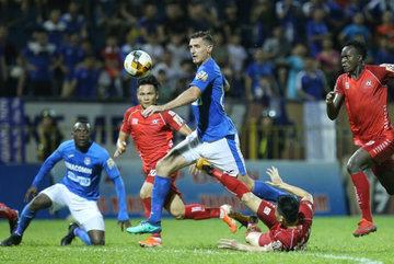 Thắng đậm Hải Phòng, Than Quảng Ninh vào top 3 V-League