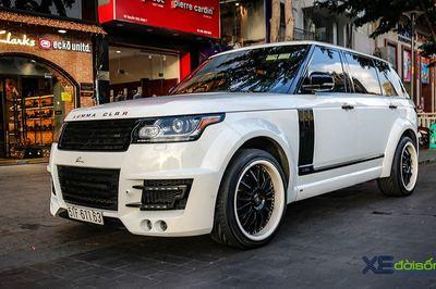 Chạm mặt hàng độc Range Rover độ widebody Lumma CLR R tại Sài Gòn