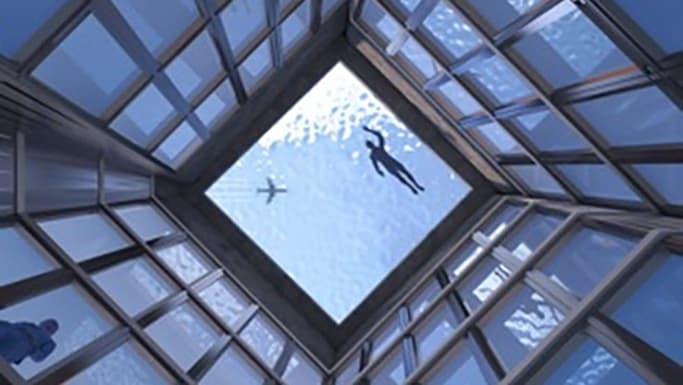 bể bơi,Nhà cao tầng