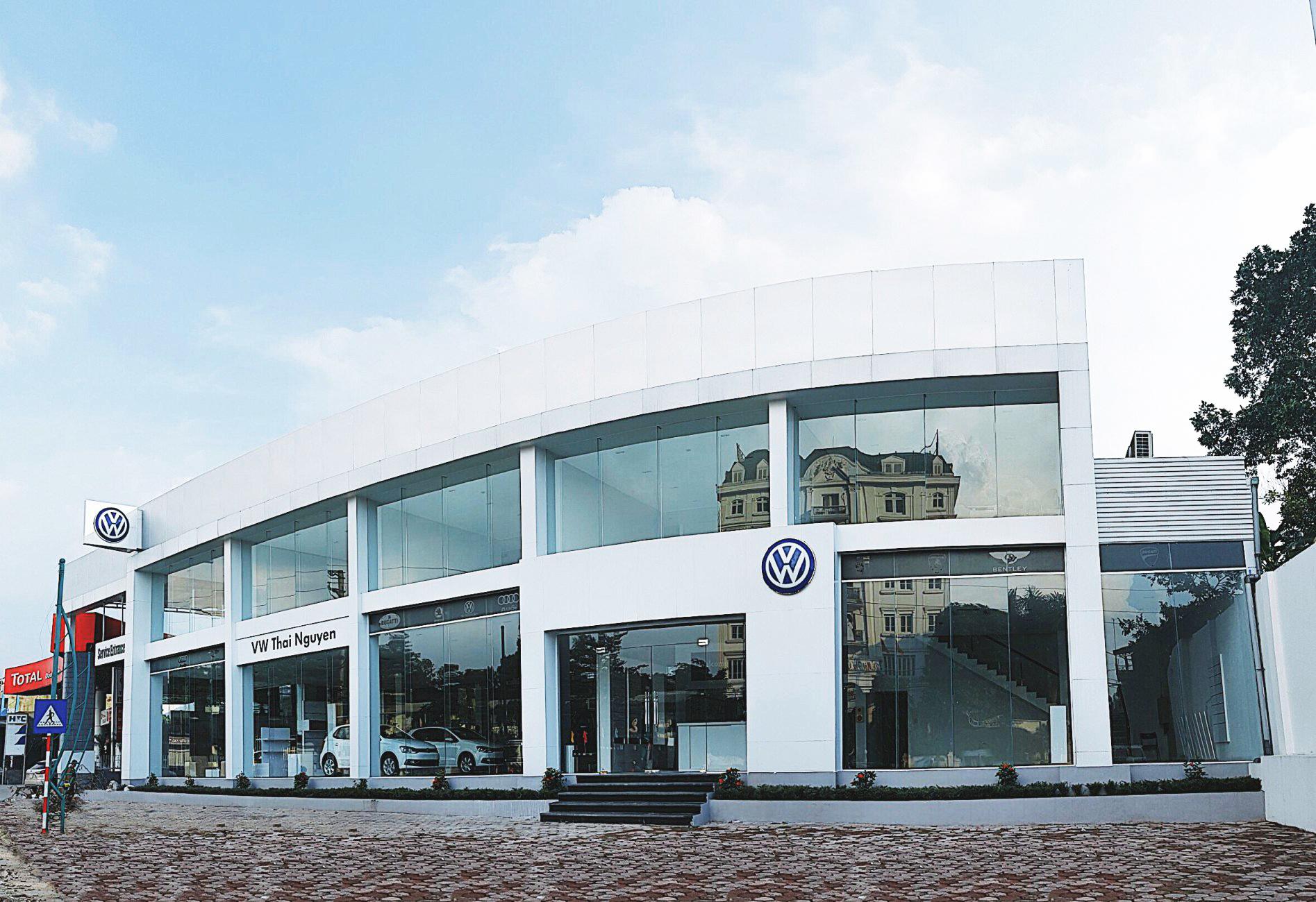 Volkswagen Việt Nam khai trương đại lý đạt chuẩn 4S ở Thái Nguyên
