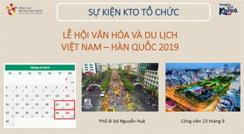 HCM City to host Vietnam–RoK Culture and Tourism Festival