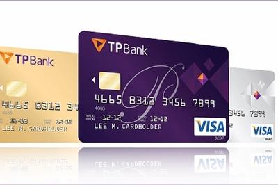 TPBank vào top 3 ngân hàng dẫn đầu số lượng thẻ tín dụng