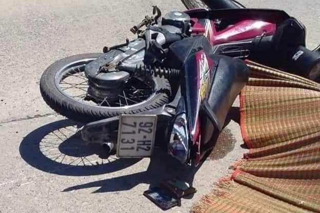 2 xe máy đối đầu, thanh niên Quảng Nam tử vong tại chỗ
