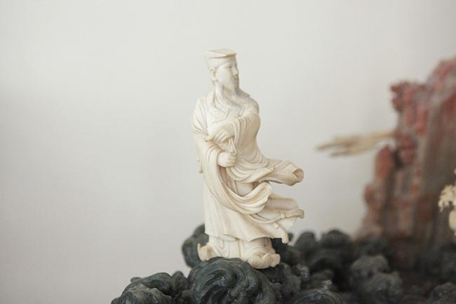 Tuyệt phẩm điêu khắc 'bát tiên quá hải' độc nhất vô nhị ở Việt Nam