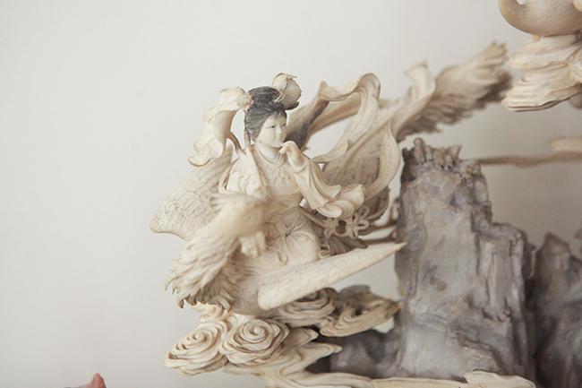 điêu khắc,tiểu cảnh