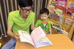 MC VTV dạy con trai hơn 2 tuổi đam mê đọc sách