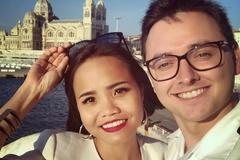 Gặp sĩ quan tàu biển Pháp ở quán bar, cô gái Việt lấy được chồng điểm 10