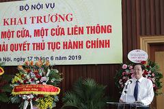Bộ trưởng Nội vụ muốn tạo đột phá trong cải cách hành chính