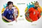 Nhật Bản 0-0 Chile: Thế trận cởi mở (hiệp 1)