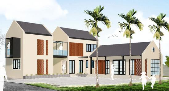 nhà ở nông thôn,kiến trúc nông thông,quy hoạch đô thị