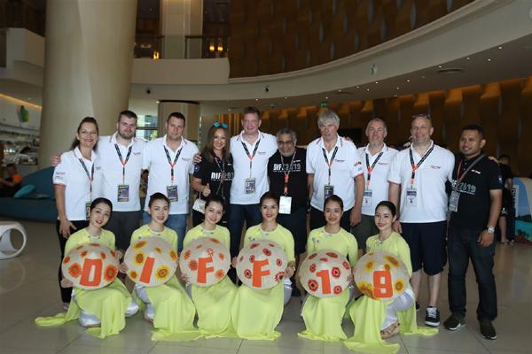 Đội pháo hoa Anh, Trung Quốc có mặt ở Đà Nẵng, sẵn sàng cho DIFF 2019