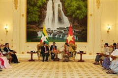 Deputy PM Vuong Dinh Hue visits Myanmar