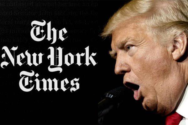 Mỹ,Donald Trump,báo New York Times,tấn công mạng,Nga