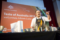 Australian MasterChef shares his cooking philosophy