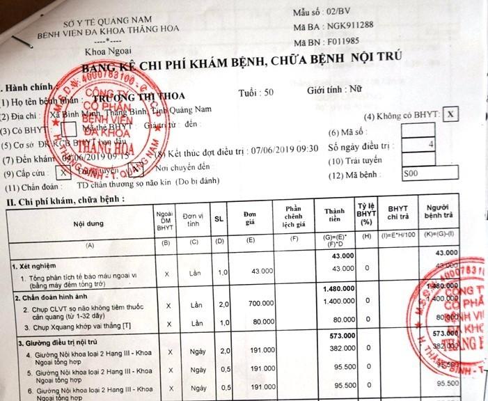 Khởi tố nhóm côn đồ lao vào nhà đấm đá túi bụi phụ nữ ở Quảng Nam