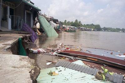 Bộ trưởng Trần Hồng Hà: Biến đổi khí hậu ĐBSCL đến sớm hơn kịch bản