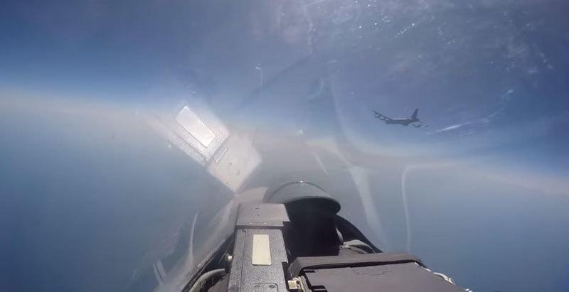 Nga,Mỹ,chiến cơ Nga,pháo đài bay Mỹ,B-52
