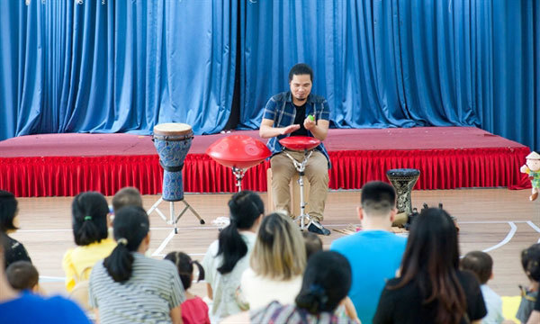 'Magician' of percussion dedicates his life to audiences