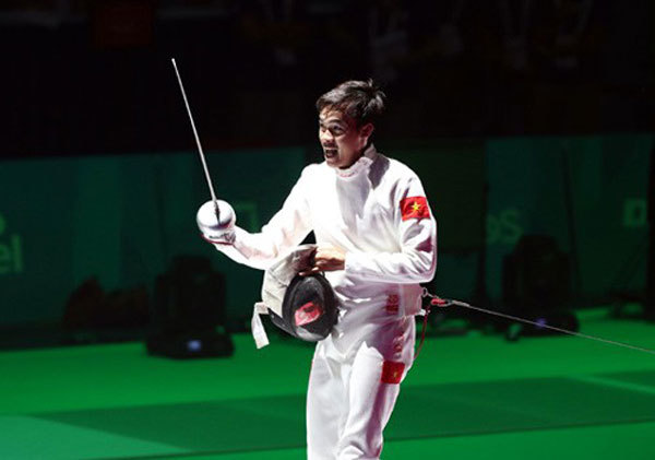 Asian Fencing Championships,fencer Nhat wins,Fine Arts Museum,new exhibition of paintings,entertainment news,what's on,Vietnam culture,Vietnam tradition,vn news,Vietnam beauty,Vietnam news,vietnamnet news,vietnamnet bridge,Vietnamese newspaper,Vietnam lat