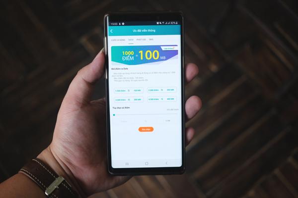 Viettel ra mắt dịch vụ đổi thưởng lấy tin nhắn, phút gọi và data miễn phí