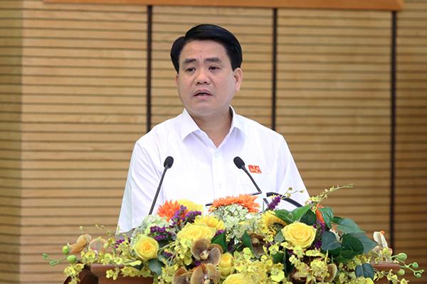 8B Lê Trực,Chủ tịch Hà Nội,Nguyễn Đức Chung,vi phạm xây dựng