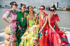 Vũ Ngọc & Son mang vẻ đẹp của đại dương vào trang phục hè