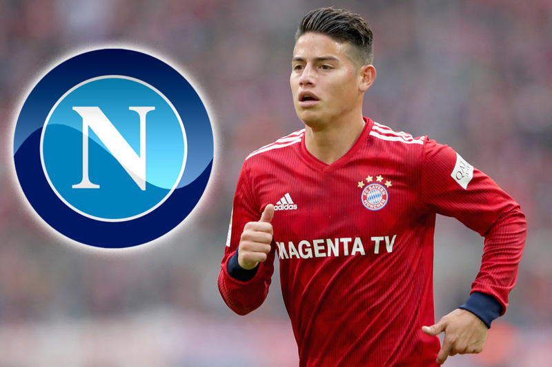 MU,Rashford,James Rodriguez,Real Madrid,Napoli