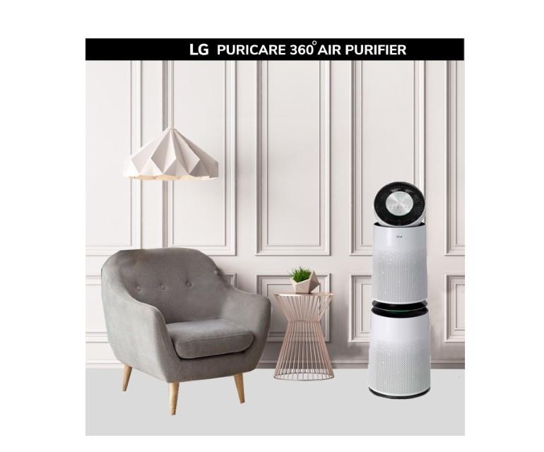 LG đẩy mạnh các giải pháp điều hòa và lọc không khí thông minh