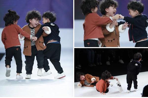 Video cú ngã trên sàn catwalk khiến cậu bé 4 tuổi nổi như cồn trên mạng xã hội