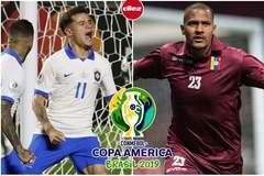 Brazil 0-0 Venezuela: Sức ép khủng khiếp (H1)