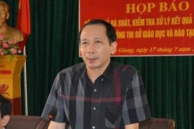 Cảnh cáo Phó Chủ tịch UBND tỉnh Hà Giang để xảy ra gian lận thi cử