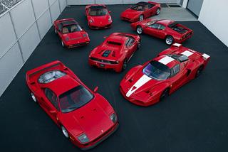 Bộ sưu tập xe Ferrari hiếm có khó tìm sắp lên sàn đấu giá