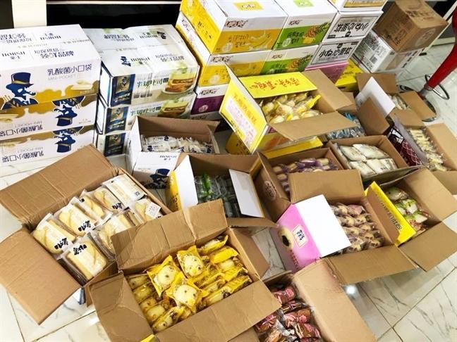 đồ ăn vặt,hàng Trung Quốc,kem trung quốc
