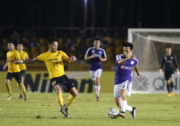 Hanoi draw with Ceres Negros in AFC Cup's ASEAN zonal semi-finals