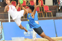 Vietnam win three games at Asian Beach Handball Championships