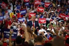 Ông Trump chính thức mở chiến dịch tái tranh cử