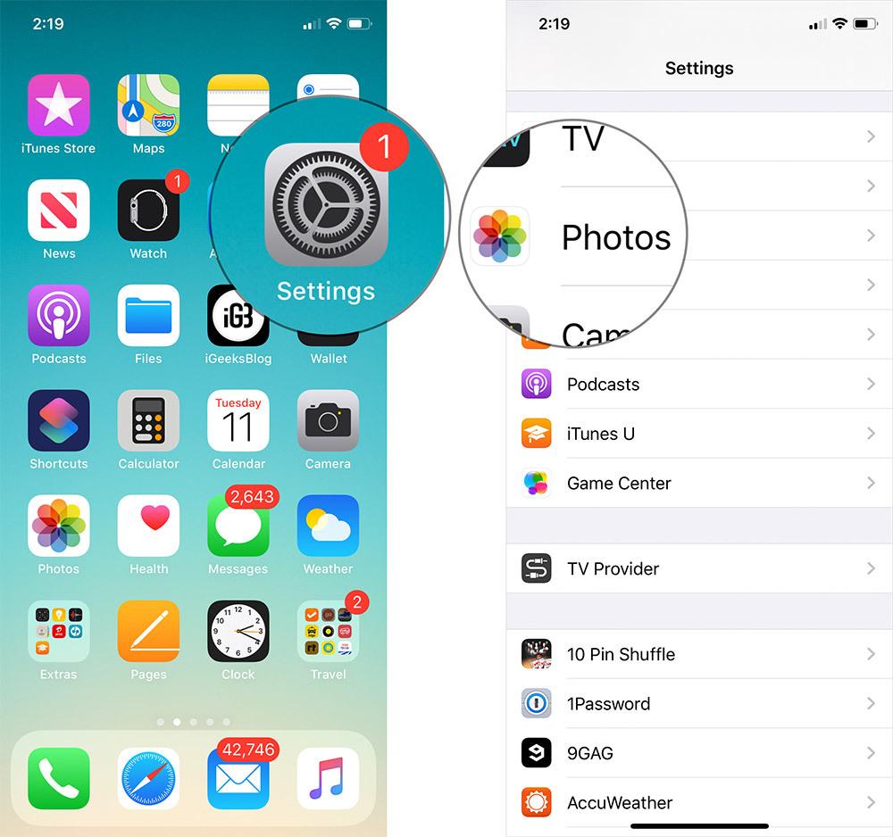 Cách tắt tính năng tự phát video trên ứng dụng Photos của iOS 13