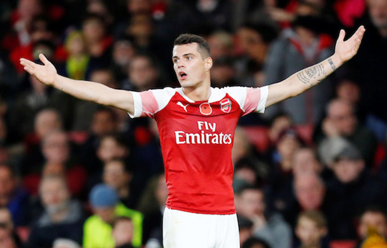 Arsenal,Xhaka,Atletico Madrid