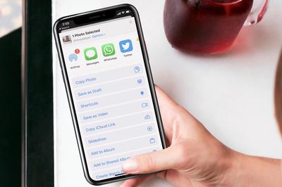 Cách biến ảnh Live Photo thành video trên iOS 13