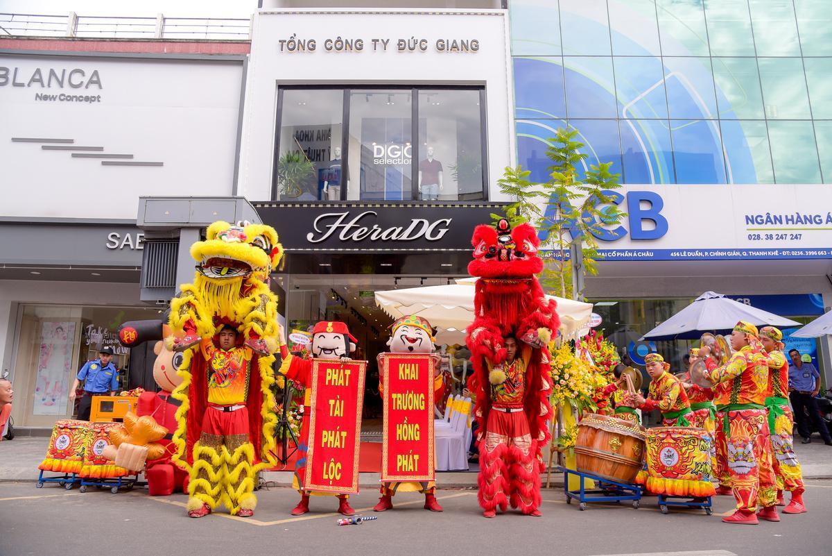 Đức Giang khai trương showroom thời trang ở Đà Nẵng