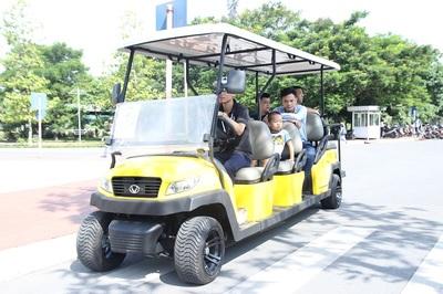 Xe điện 4 bánh Tùng Lâm gây ấn tượng ở Vietnam AutoExpo 2019