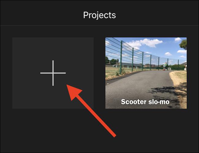 Cách thay hình nền video bằng ứng dụng iMovie