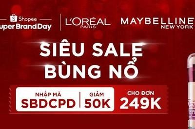 Ngày hội thương hiệu cùng Shopee: 1 phút bán ra 20 sản phẩm L'Oreal